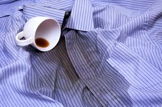 Coffee and Tea Stains are the Toughest one to Remove - Tip Top Dry Cleaners Wine Stains, Tea Stains, Coffee Stain Removal, Papier Absorbant, Removal Services, Coffee Staining, Laundry Hacks, Dry Cleaning, Household Items