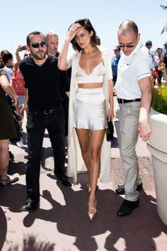 Bella Hadid Just Made Lingerie Look Daytime Chic — Because of Course She Did