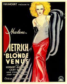 Blond Venus (Josef von Sternberg, 1932)    2017.03.07 @ Taipei, YMU