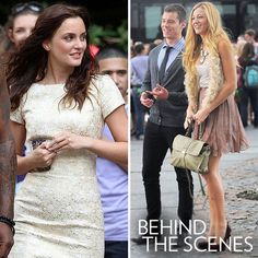 I love this brocade shift dress worn by Blair in season 5 of Gossip Girl.  Just simply gorgeous!