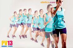 Lo más cómodo para hacer ejercicio y con una apariencia muy a la moda. www.atletica.com