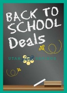 Back to School deals have started . . . ahhh!