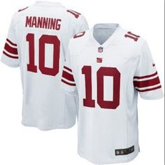 b3bf9dbcb New Nike Giants 10 Eli Manning Nike Elite Jersey White NFL Jersey Nfl  Store