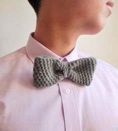 Men's Crochet Bowtie by KLJT