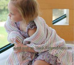 Simple Beautiful Crochet Baby Afghan Pattern 2