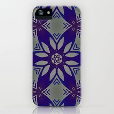 Blue Geometric Star iPhone & iPod Case by InDepth Designs - $35.00
