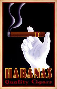 Habanas Quality Cigars Print