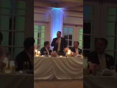 Best man speech goes well! http://youtu.be/awMOG81onXQ