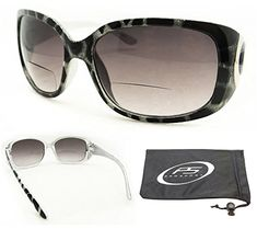 Trendy Bifocal Sunglasses 150 for Women with Sexy Animal Pattern Frames and Chrome Accent Free Microfiber Cleaning Case Included * Learn more by visiting the image link.Note:It is affiliate link to Amazon.
