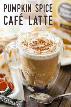 Enjoy everyone's favorite fall drink at home. With NESCAFÉ Taster's Choice, a Pumpkin Spice Café Latte can be yours in minutes. Our coffee is crafted from perfectly roasted and brewed beans, guaranteeing your cup is just right every time.