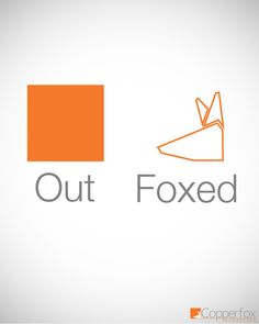 Outfoxed - A look at the fox logo with creative design from Cincinnati agency Copperfox Marketing