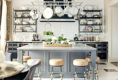 Gold and Cast iron Kitchen Stools Brass Stainless Steel Black Metal Kitchen Hood
