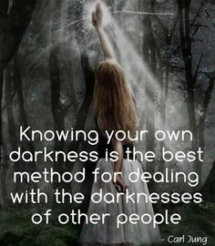 Knowing your own darkness...  #inspiration #motivation #wisdom #quote #quotes #life