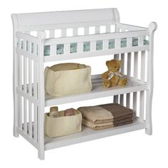 Amazon.com : Delta Children Eclipse Changing Table, Espresso Cherry : Delta Canton Changing Table : Baby