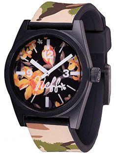 Neff Daily Wild Commando Watch Uhr Montre Timepiece Armbanduhr Orologio - http://uhr.haus/neff/commando-neff-daily-wild-zeigt