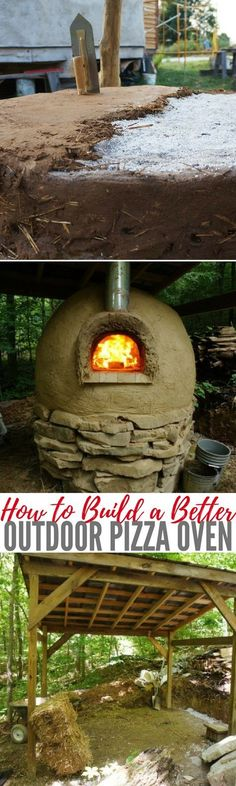 How to Build a Better Outdoor Pizza Oven — If you're living off the grid, or just enjoy a fire oven baked foods, an outdoor pizza oven is a fantastic way to quickly cook food while using no electricity. Of course you can make pizza, bread, and other baked goods, and you can also use it as a grill for meats or operate it at a lower temperature for baking casserole-type dishes. The trouble is that it can be very expensive to have an outdoor oven installed. Images by TheYearOfMud.com