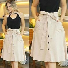 Swans Style is the top online fashion store for women. Shop sexy club dresses, jeans, shoes, bodysuits, skirts and more. Modest Fashion, Fashion Dresses, Blouse And Skirt, Couture, Skirt Outfits, I Dress, Dress Patterns, African Fashion, Blouse Designs