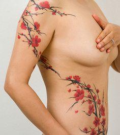Cherry Blossom Tattoos - Tattoos.net