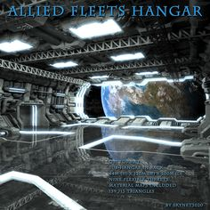 Allied Fleets Hangar - $16