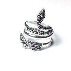 Snake Serpent ~ Sterling Silver Ring