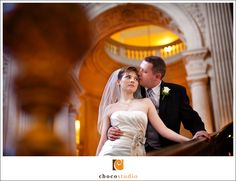 San Francisco City Hall wedding by Choco Studio Photography