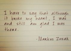 The Book Thief quote
