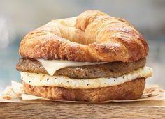 Dunkin Donut's Maple Sausage  Breakfast Sandwich