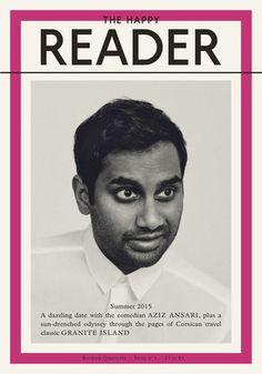 The Happy Reader, Issue 3, featuring Aziz Ansari.