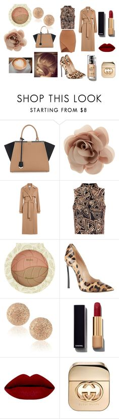 """Bez naslova #54"" by uunnaa ❤ liked on Polyvore featuring Fendi, Accessorize, Jason Wu, Glamorous, Casadei, Carolina Bucci, Chanel, Gucci, women's clothing and women's fashion"