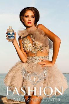 Campania Fashion Luxury Spring Water realizata de Fashiontv Romania - galerie foto Spring Water, Peplum Dress, Luxury, Flowers, Dresses, Fashion, Vestidos, Moda, Mineral Water