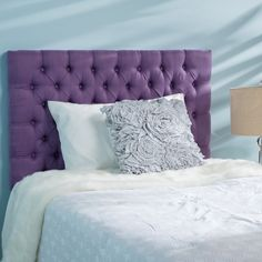 Jezebel Twin Button Tufted Fabric Kid Headboard by Christopher Knight Home