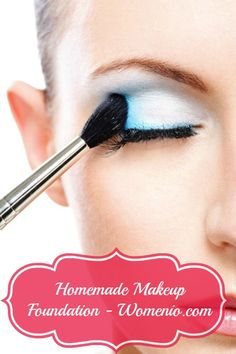 Homemade Makeup Foundation. - 5 Natural DIY Beauty Recipes for Homemade Glamour!