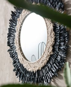 Kare Design, Urban Nature, Mirror Mirror, Mirrors, Wood, Zen, Unique, Collection, Feathers