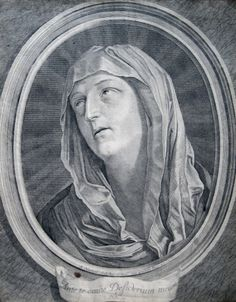 Mater Dolorosa  A 17th century engraving of Mary as the Mother of Sorrows.