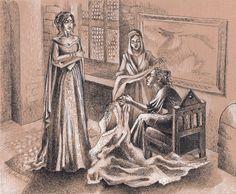 Trianna, Nasuada and Farica by Glutiam