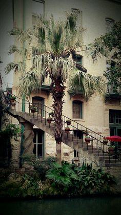 San Antonio Riverwalk Architecture
