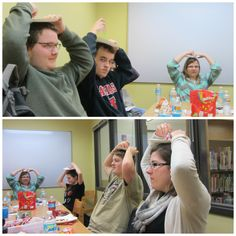 Ice Breaker: Self portraits Give each teen a cheap paper plate and a marker. The teens place the plates on their heads and draw a self portrait without looking . Collect the portraits. Mix them up and have the teens guess who each portrait is. Great fun!