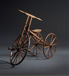 antique wooden bike ...Choose Traditional Americana Collections - Just Folk