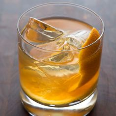 Maple-Bourbon Smash - to make LC use Maple Extract & Liquid Stevia & Orange Extract instead of maple syrup & bitters | Food & Wine
