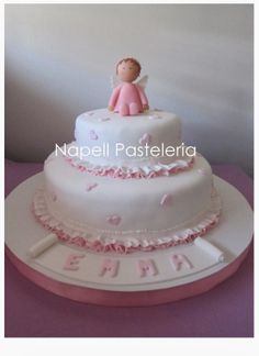 Torta Bautismo. / Angel Cake