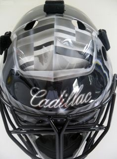MTL316 Goalie Mask Collector  #cadillac #mask #goalie #custom #hockey www.MTL316.com