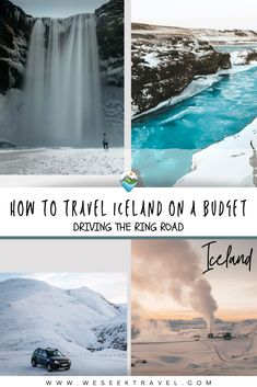 Can you travel Iceland on a budget? A quick google search of Iceland will yield thousands of images of amazing waterfalls, glaciers, mountains, volcanoes, hot springs and glacial rivers. Every scene truly is like out of a movie. But, isn't Iceland expensive? Isn't it hard to get to?