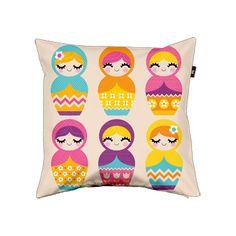 Nesting dolls cushion