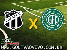 Assistir #Ceara x #Guarani ao vivo 19h30 Brasileiro Série B