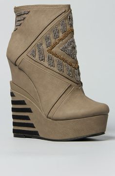 The Cass Shoe in Taupe by *Sole Boutique