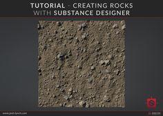 ArtStation - Tutorial - Creating Rocks In Substance Designer, Joshua Lynch