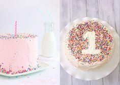 Tartas fáciles para el primer cumpleaños