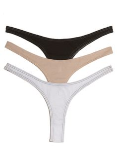 Basic ORGANIC THONG, 100 % organic pima jersey easy relaxed fit  http://skinworldwideshop.com/collections/lingerie-2/products/organic-thong