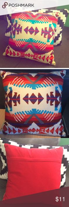 Forever 21 Aztec Print Pillow Forever 21 Aztec Print Pillow. It was a decorative pillow on my bed so it is in excellent condition, I just want to find it a new and loving home! ❌I do not trade. Forever 21 Accessories