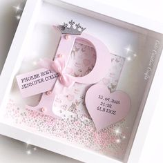 Baby-Handwerk - Baby-Handwerk - Ideen über neues Baby Baby-Handwerk Baby-Handwerk PintoPin naissance part naissance bebe faire part felicitation baby boy clothes girl tips Diy Baby Gifts, Baby Girl Gifts, Baby Shower Gifts, Craft Gifts, Box Frame Art, Box Frames, Craft Frames, Marco Diy, Cadre Photo Diy